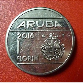 Aruba Moneda Willem Alexander De Holanda 1 Florin 2016