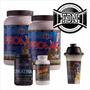 Whey Protein Pulver 4k + Amino 6000 + Creatina 500grs + Vaso