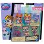 Conjunto Littlest Pet Shop Amigos Fashions - Hasbro