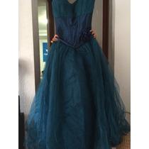 Vestido De Xv Color Petróleo