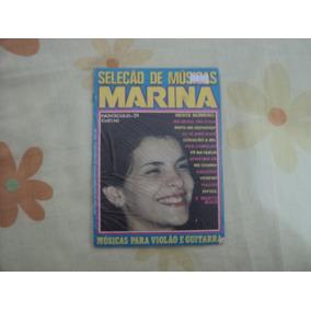 Revista - Marina Lima- Seleção De Música.