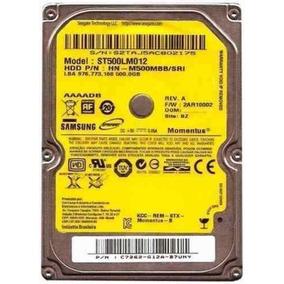 Hd Notebook Seagate 500gb Sata 2 5400rpm