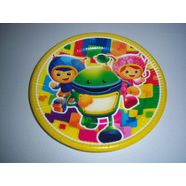 Platos Vasos Desechables Articulos Fiesta Equipo Umizoomi
