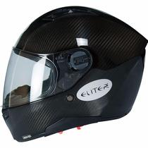 Capacete Eliter - Vega F117 (fibra De Carbono)