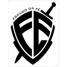 Adesivo Decorativo Gospel, P/ Carro, Moto, Etc. Escudo Da Fé