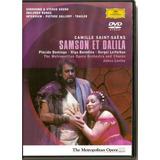 Dvd Plácido Domingo - Samson Et Dalila - Saint-saens - Novo*