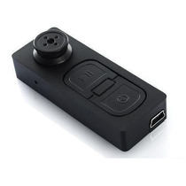 Botão Espião Micro Câmera Filmadora Fotos Mais Cartão 32gb