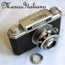 Máquina Fotográfica Antiga Konica 1 (1946) Rangefinder 35mm