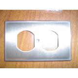 Espelho Para Tomada Hospital Grade Em Aço Inox Importado