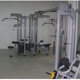 Estação Profissional De Musculação Maqsports 6 Equipamentos