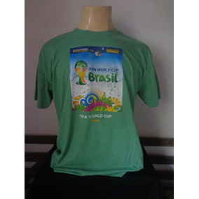 Camisetas Panini Campionato Mundial De Futbol 2014