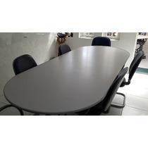 Mesa Escritório Reunião Grande Usada 2mx1m Sem Cadeiras