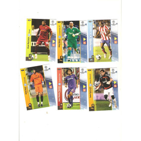 Lote Com 12 Cards Champions League 2008/2009