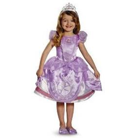 Sofia The First Vestuario Deluxe Little Girls