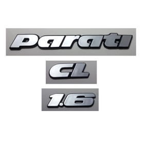 Kit Emblemas Volkswagen Parati Cl 1.6 91 92 93 À 97 Brinde
