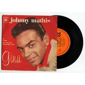Lp Vinil - Johnny Mathis - Compacto Duplo Gina - Cbs Discos