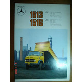 Folder Mercedes Benz Caminhão 1513 1516 L Lk Catalogo Truck