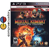 Mortal Kombat 9 Komplete Edition Ps3 Disco Fisico Sellado