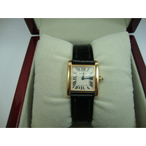 Relógio Cartier De Ouro 18k Jr Joalheiro.