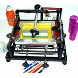 Máquina Média Gravadora Caneta Longdrink Silk Copos Canecos
