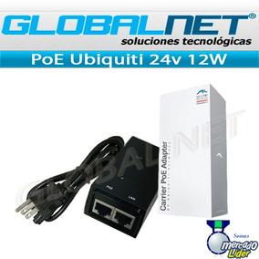 Poe Activo 24volt 0.5amp 12w Ubiquiti Para Tus Equipos Wifi
