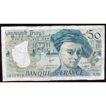 Billete 50 Francos Francia 1983 - Muy Bueno!