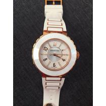 Reloj Swarovski Dama Octea Sport White Rose