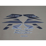 Kit Adesivos Honda Cbx Twister 250 2008 Cinza 10087