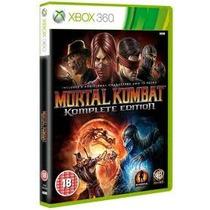 Jogo Ntsc Lacrado Mortal Kombat Komplete Edition Xbox 360