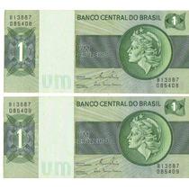 Lote Dinheiro Antigo Um Cruzeiro, Mesma Série, Frete Grátis