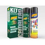 Kit Tinta Spray Camaleão (primer + Efeito) Pintura Carro
