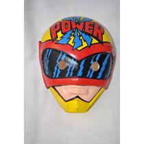 Caretas Plastirama Juguete Retro Superheroe Power Ranger
