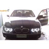 Farol Bmw 528i 530i 540i Serie 5 De 97-03 Xenon+angel Eyes