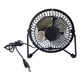 Mini Ventilador De Mesa Usb Articulavel