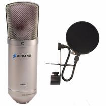 Kit Arcano 01 Am-01 + 01 Pfe-06 + 01 Cabo Xlr Balanceado