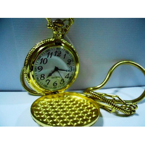 Relógio De Bolso Dourado Ou Prateado Estilo Antigo Coleção