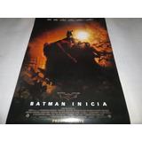 Poster Original De La Pelicula Batman Inicia