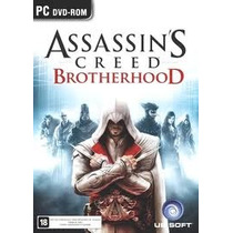 Jogo Americano Assassins Creed Brotherhood Ubisoft Para Pc