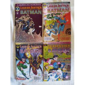 Liga Da Justiça E Batman! R$ 8,00 Cada! Ed. Abril 1994-96!