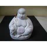 #4993# Buda Pequeno De Porcelana Filetada