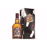 Whisky Chivas Regal 12 Años Caja Chapa Recoleta