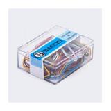Clips Colorido Nº 3 Cx C/50 Un Kit Com 18 Cx - 900 Clips