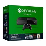 Xbox One Con Dos Juegos A Elegir.