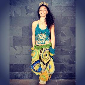 Pantalon Lana Bombacho / Hombre Y Mujer / Tejidos A Mano