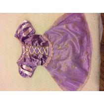 Disfraz Vestido Princesa Rapunzel De Disney Original