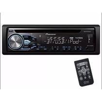 Auto Radio Cd Pioneer Deh-x4850bt Usb Ipod/iphone Bluetooth