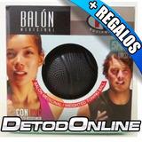 Balón Medicinal 5 Kilos K6 Negro + Regalos