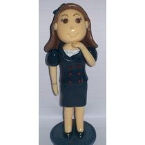 Lembrança Boneca Boneco Personalizado Biscuit Profissão