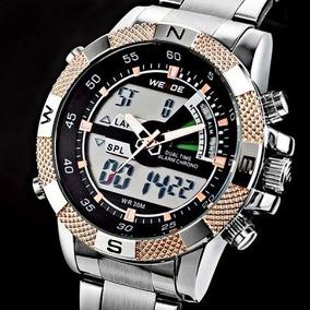 e22e0804609 Relogio Invoice Sport Sr626sw Masculino Weide - Relógio Masculino no ...
