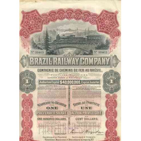 Brazil Railway Company - 1910